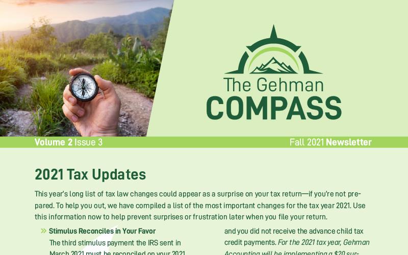 2021 Fall Newsletter web image